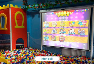 চীন Interactive floor game projector interactive projection wall children game machine কারখানা